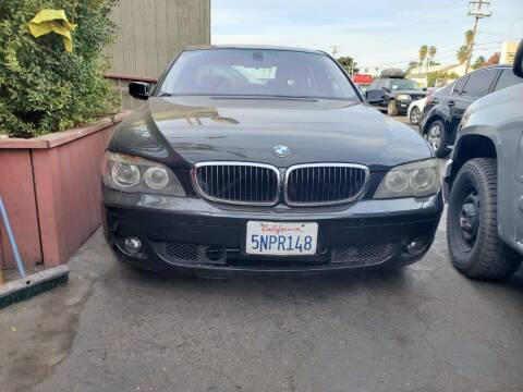 2006 BMW 7 Series for sale at McHenry Auto Sales in Modesto CA