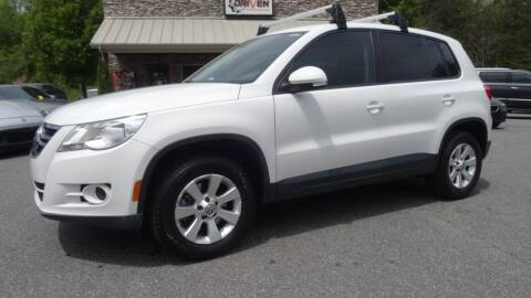 2010 Volkswagen Tiguan for sale at Driven Pre-Owned in Lenoir NC