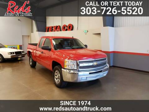 2013 Chevrolet Silverado 1500 for sale at Red's Auto and Truck in Longmont CO