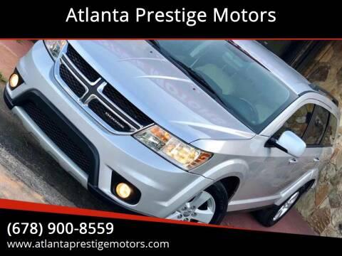 2012 Dodge Journey for sale at Atlanta Prestige Motors in Decatur GA