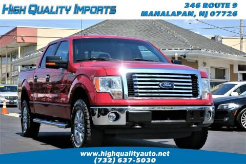 2011 Ford F-150 for sale at High Quality Imports in Manalapan NJ