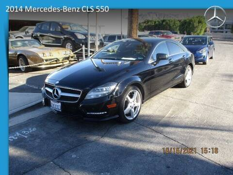 2014 Mercedes-Benz CLS for sale at One Eleven Vintage Cars in Palm Springs CA
