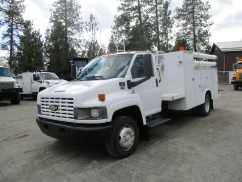 2009 Chevrolet KODIAK 5500 UTILITY for sale at BJ'S COMMERCIAL TRUCKS in Spokane Valley WA