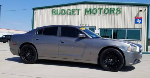 2011 Dodge Charger for sale at Budget Motors in Aransas Pass TX