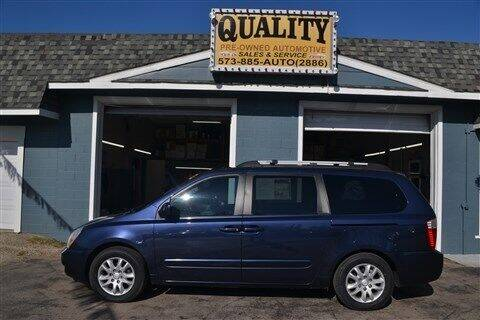 2008 Kia Sedona for sale at Quality Pre-Owned Automotive in Cuba MO