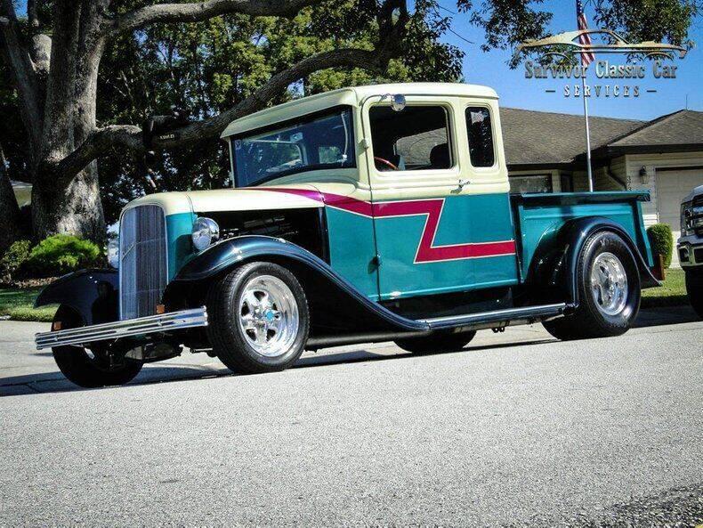1933 Ford F-100 for sale at SURVIVOR CLASSIC CAR SERVICES in Palmetto FL