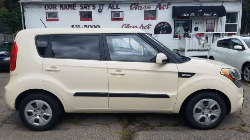 2012 Kia Soul for sale at Class Act Motors Inc in Providence RI