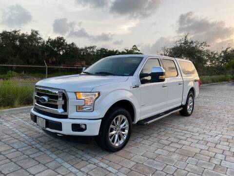 2016 Ford F-150 for sale at My Car Inc in Hialeah FL