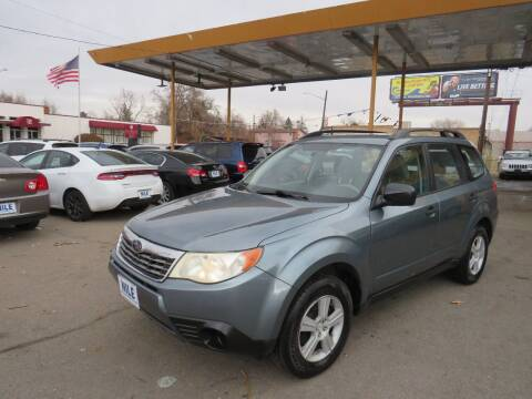 2010 Subaru Forester for sale at Nile Auto Sales in Denver CO