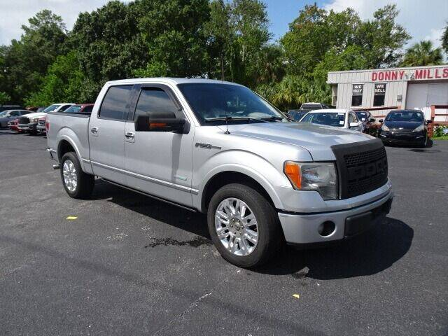 2012 Ford F-150 for sale at DONNY MILLS AUTO SALES in Largo FL