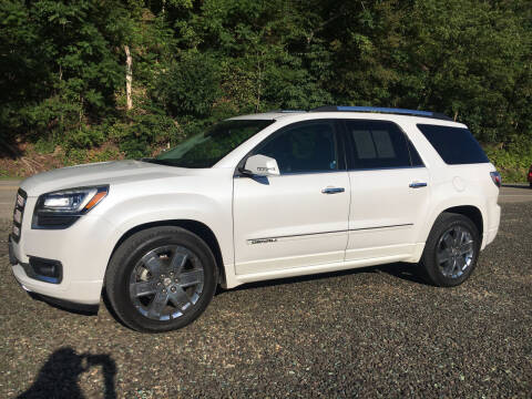 2016 GMC Acadia for sale at DONS AUTO CENTER in Caldwell OH