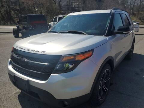 2015 Ford Explorer for sale at Mulligan's Auto Exchange LLC in Paxinos PA