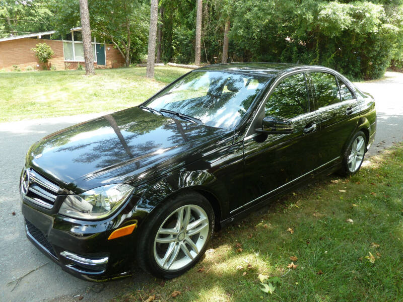 2014 Mercedes-Benz C-Class for sale at Templar Auto Group in Matthews NC