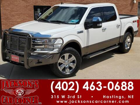 2019 Ford F-150 for sale at Jacksons Car Corner Inc in Hastings NE