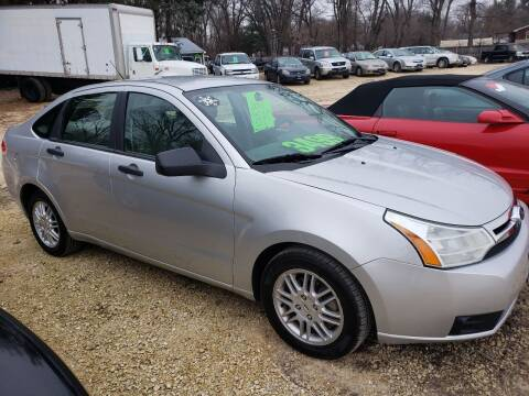 2011 Ford Focus for sale at Northwoods Auto & Truck Sales in Machesney Park IL