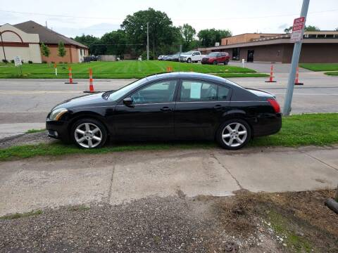 2006 Nissan Maxima for sale at D & D Auto Sales in Topeka KS