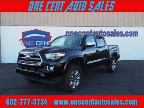 2016 Toyota Tacoma for sale at One Cent Auto Sales in Glendale AZ