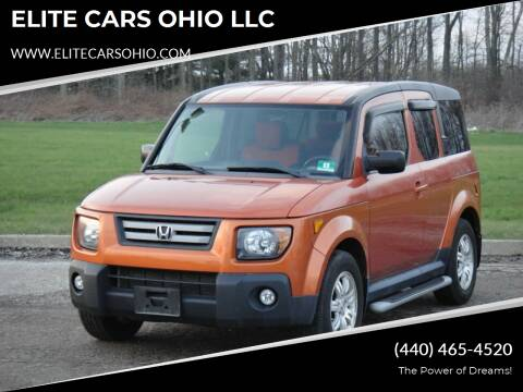 2008 Honda Element for sale at ELITE CARS OHIO LLC in Solon OH