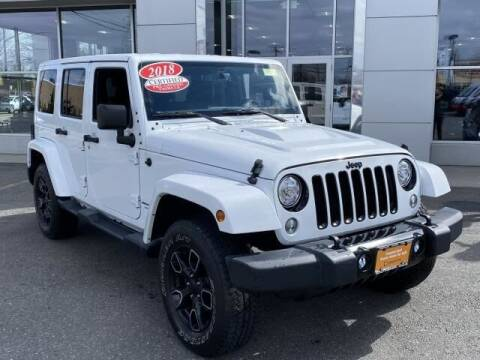 2018 Jeep Wrangler JK Unlimited for sale at South Shore Chrysler Dodge Jeep Ram in Inwood NY