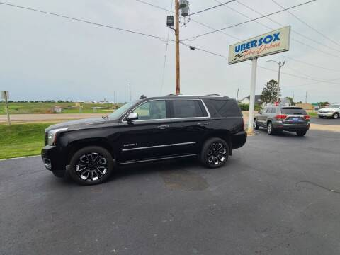 2018 GMC Yukon for sale at Ubersox Used Car Superstore in Monroe WI
