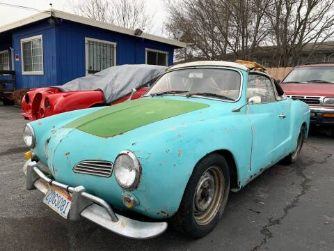 1967 Volkswagen Karmann Ghia for sale at Dodi Auto Sales in Monterey CA