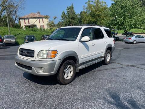 2002 Toyota Sequoia for sale at KP'S Cars in Staunton VA