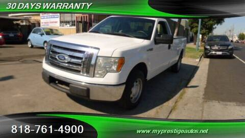 2012 Ford F-150 for sale at Prestige Auto Sports Inc in North Hollywood CA