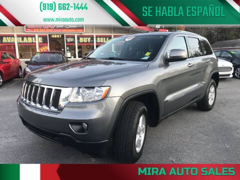 2012 Jeep Grand Cherokee for sale at Mira Auto Sales in Raleigh NC