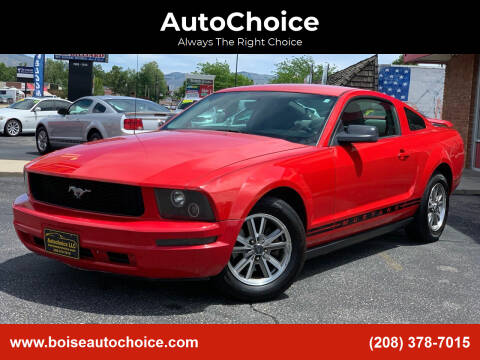 2005 Ford Mustang for sale at AutoChoice in Boise ID