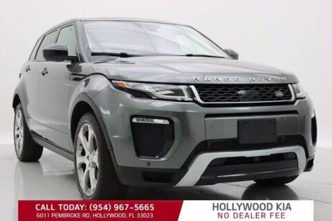 2017 Land Rover Range Rover Evoque for sale at JumboAutoGroup.com in Hollywood FL