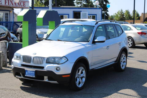 2010 BMW X3 for sale at BAYSIDE AUTO SALES in Everett WA