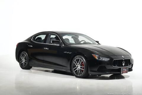 2015 Maserati Ghibli for sale at Motorcar Classics in Farmingdale NY