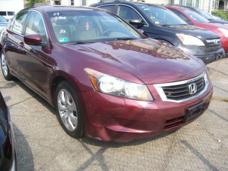 2009 Honda Accord for sale at Dambra Auto Sales in Providence RI