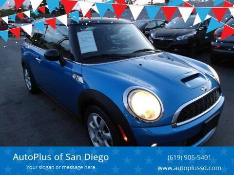2010 MINI Cooper Clubman for sale at AutoPlus of San Diego in Spring Valley CA