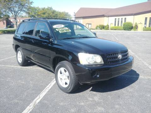 2001 Toyota Highlander for sale at Viking Auto Group in Bethpage NY