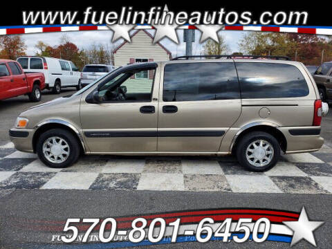 2002 Chevrolet Venture for sale at FUELIN FINE AUTO SALES INC in Saylorsburg PA