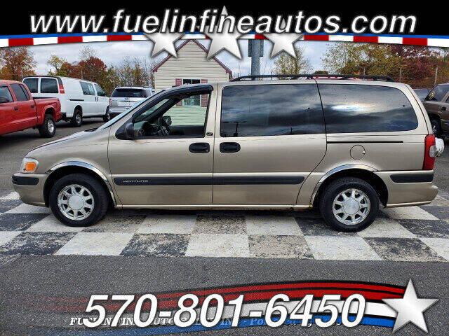 2002 Chevrolet Venture for sale at FUELIN FINE AUTO SALES INC in Saylorsburg PA