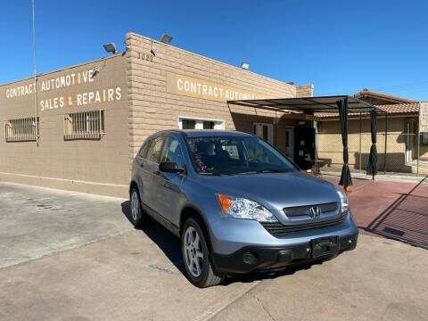 2008 Honda CR-V for sale at CONTRACT AUTOMOTIVE in Las Vegas NV