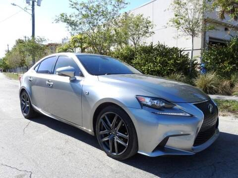 2015 Lexus IS 250 for sale at SUPER DEAL MOTORS in Hollywood FL
