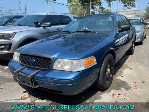 2008 Ford Crown Victoria for sale at State Surplus Auto in Newark NJ