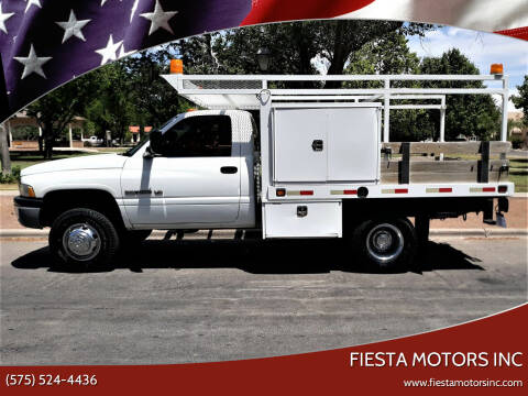 2000 Dodge Ram Chassis 3500 for sale at Fiesta Motors Inc in Las Cruces NM