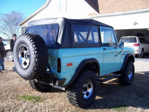 1976 Ford Bronco for sale at Hines Auto Sales in Marlette MI