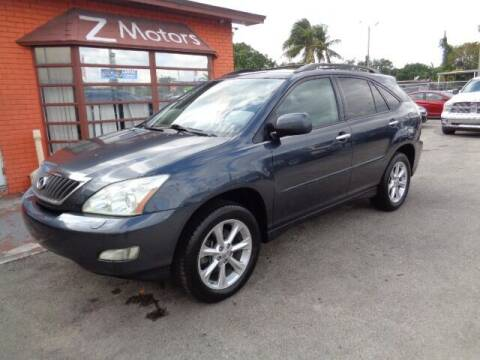 2008 Lexus RX 350 for sale at Z MOTORS INC in Hollywood FL