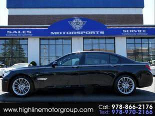 2014 BMW 7 Series for sale at Highline Group Motorsports in Lowell MA