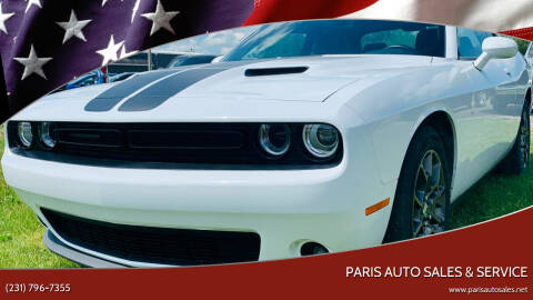 2018 Dodge Challenger for sale at Paris Auto Sales & Service in Big Rapids MI