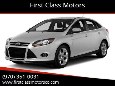 2014 Ford Focus for sale at First Class Motors in Greeley CO