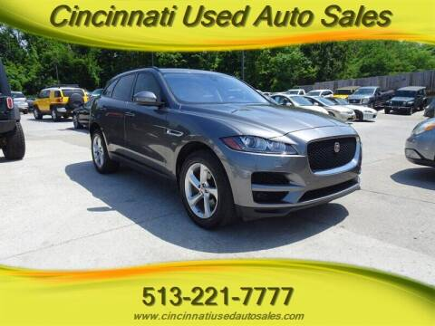 2017 Jaguar F-PACE for sale at Cincinnati Used Auto Sales in Cincinnati OH