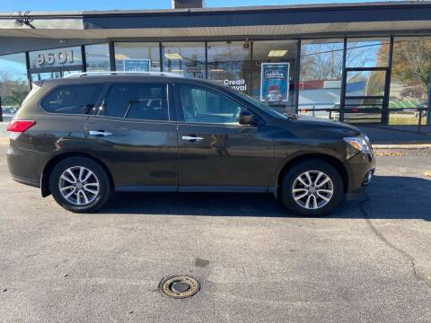 2015 Nissan Pathfinder for sale at Smart Buy Car Sales in St. Louis MO