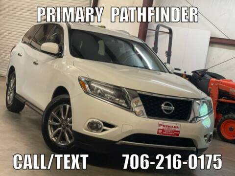 2015 Nissan Pathfinder for sale at Primary Auto Group in Dawsonville GA