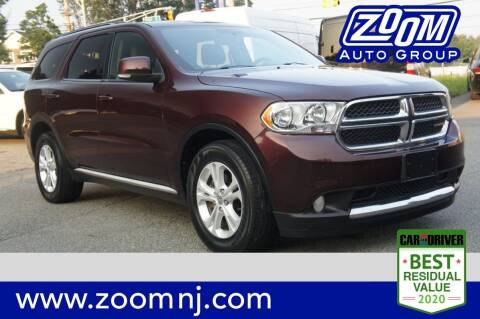 2012 Dodge Durango for sale at Zoom Auto Group in Parsippany NJ